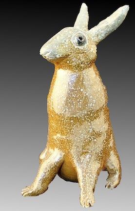 Bunny Salt-fire stoneware
