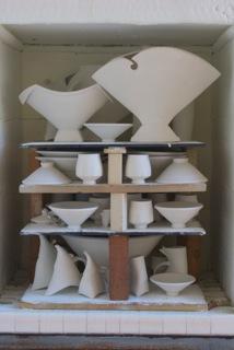 FIlley art in kiln