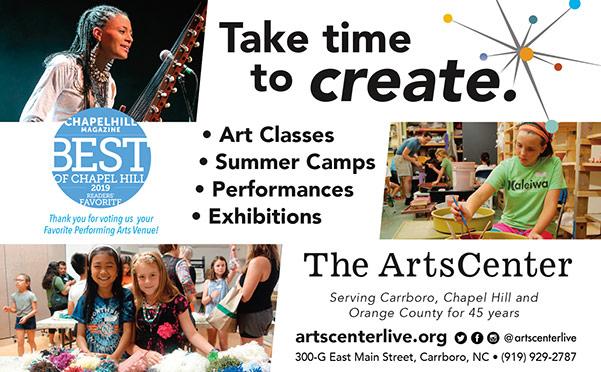 Arts Center print ad