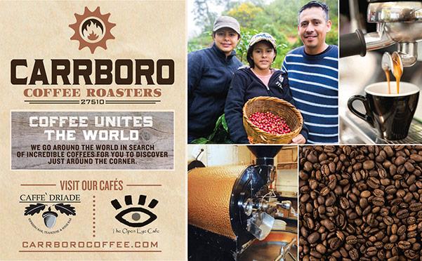 Carrboro Coffee Roasters print ad