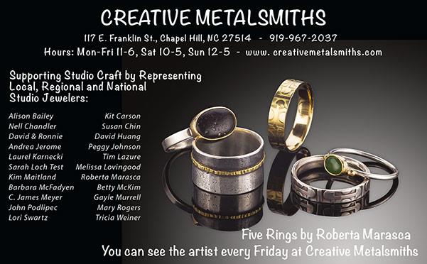 Creative Metalsmiths print ad