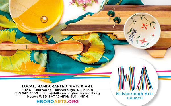 Hboro Arts Council print ad
