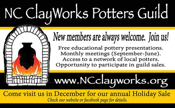 NC Clay Works print ad