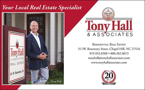 Tony Hall print ad