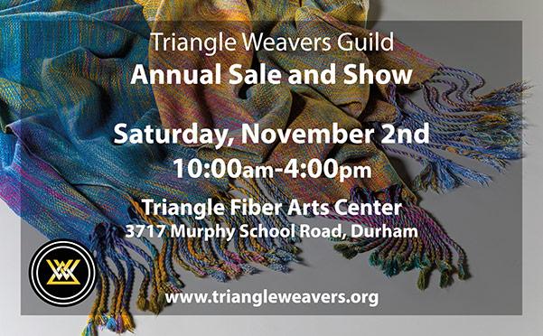 Triangle Weavers Guild print ad