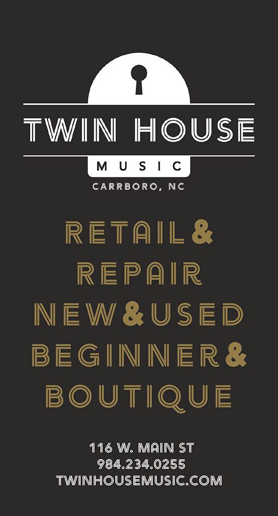 Twin House print ad