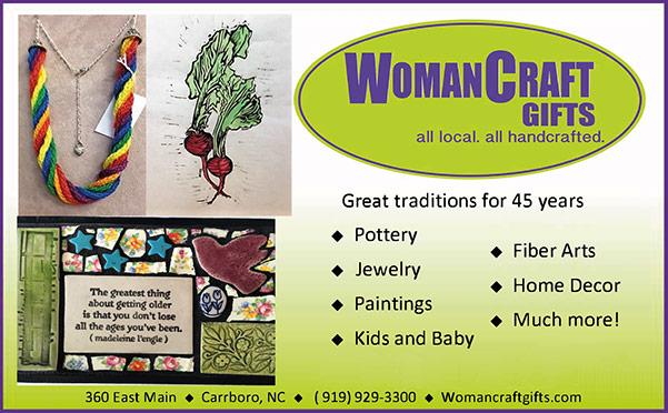 Woman Craft print ad