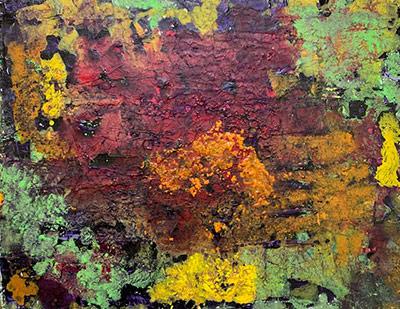 Painting by Eduardo Lapetina