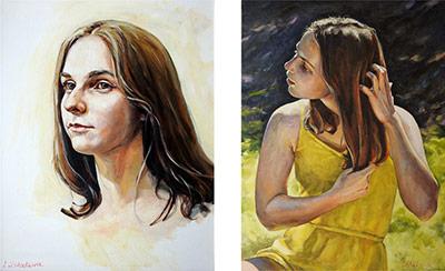 Painting by Irina Ushakova